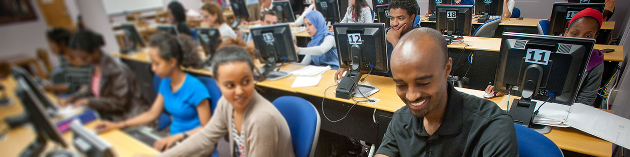 students at the center for academic excellence