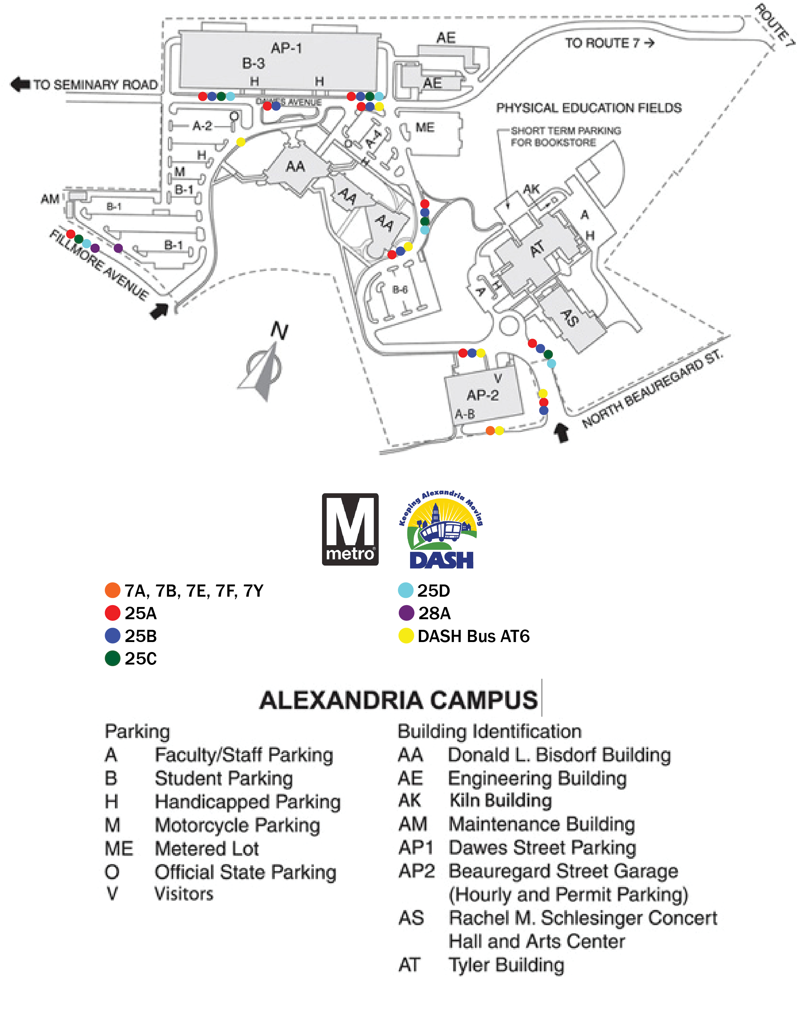 alexandria nova campus map Alexandria Campus Northern Virginia Community College alexandria nova campus map