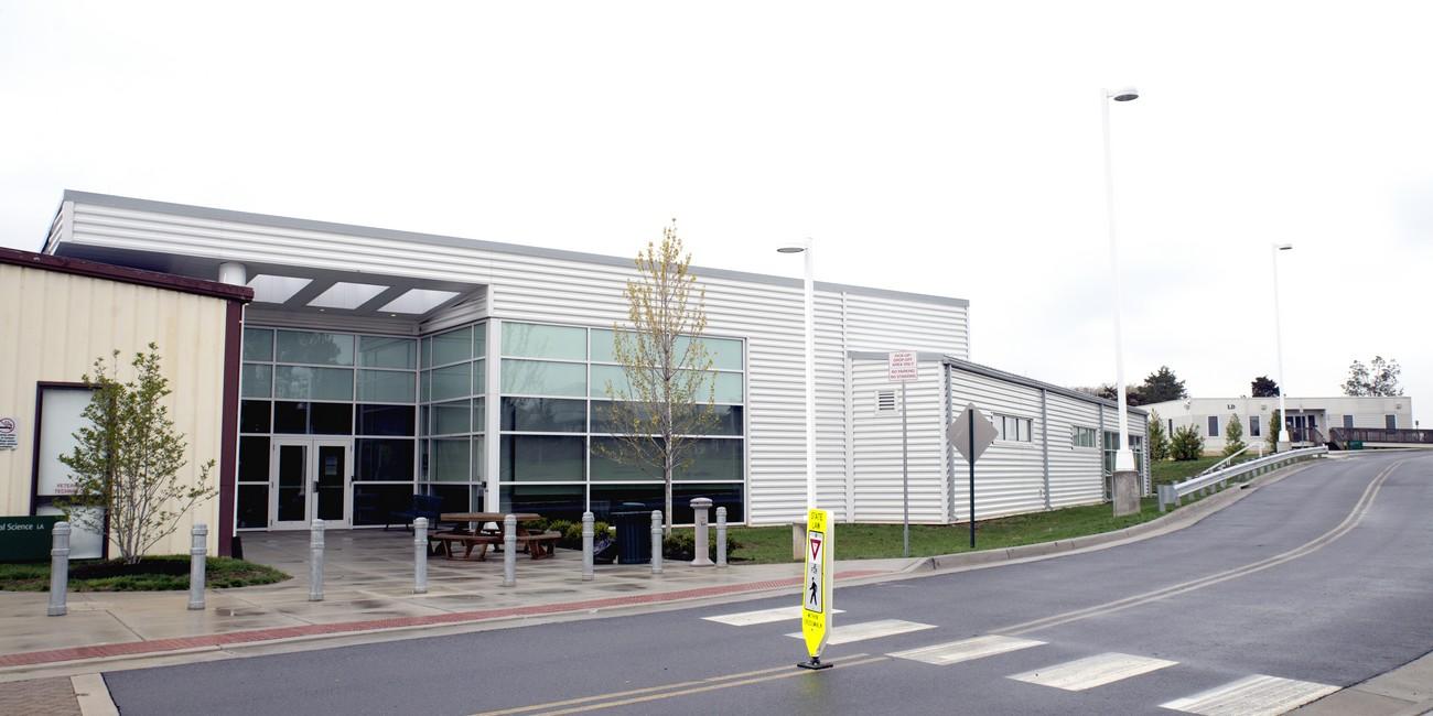 Horticulture Greenhouses Vet Tech Building