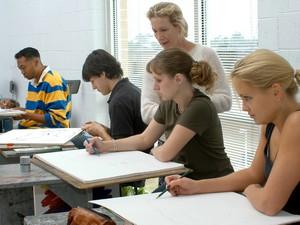 Vet Tech Program Students In The Classroom