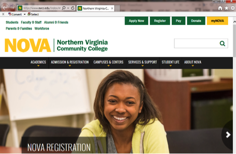 View Student Planner :: Northern Virginia Community College