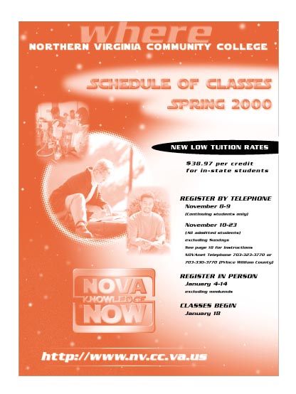 Spring 2000 cover.