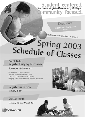 Spring 2003 cover.