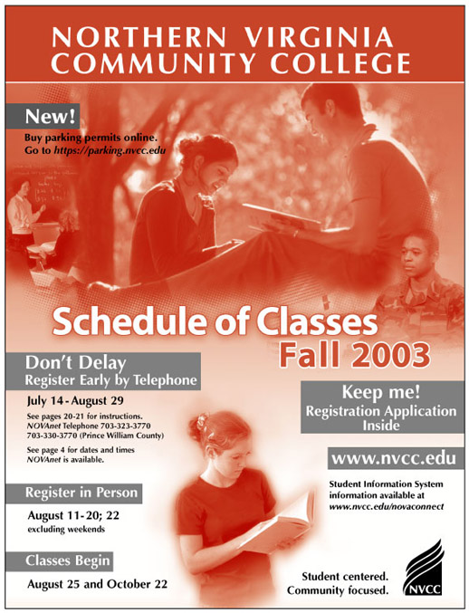 Fall 2003 cover.