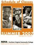 Summer 2007 schedule cover.