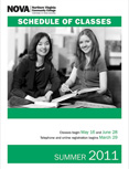 Summer 2011 schedule cover.